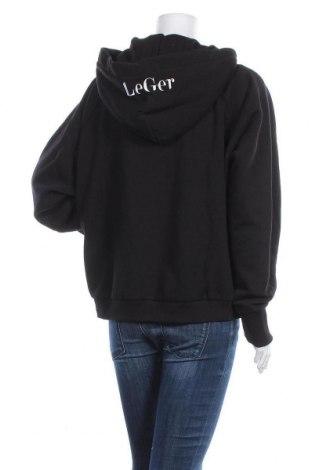 Дамски суичър LeGer By Lena Gercke, Размер L, Цвят Черен, 70% памук, 30% полиестер, Цена 41,60лв.