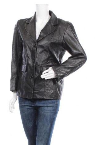 Дамско кожено сако Great Northwest, Размер L, Цвят Черен, Естествена кожа, Цена 69,93лв.