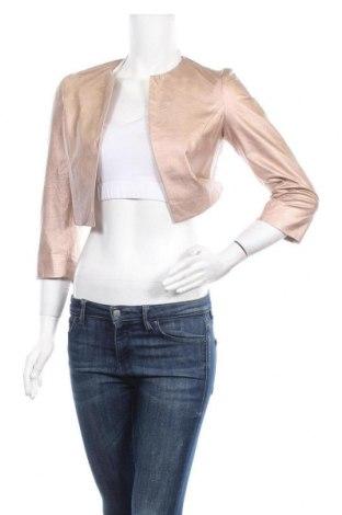 Γυναικείο δερμάτινο σακάκι Nadine, Μέγεθος S, Χρώμα Ρόζ , Δερματίνη, Τιμή 25,92€