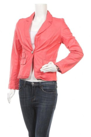 Γυναικείο δερμάτινο σακάκι Softy, Μέγεθος M, Χρώμα Ρόζ , Δερματίνη, Τιμή 9,55€