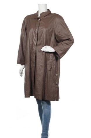 Дамско кожено яке, Размер S, Цвят Кафяв, Естествена кожа, Цена 84,11лв.