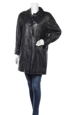 Γυναικείο δερμάτινο μπουφάν, Μέγεθος S, Χρώμα Μαύρο, Γνήσιο δέρμα, Τιμή 17,96€