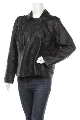 Дамско кожено яке Apt.9, Размер XL, Цвят Черен, Еко кожа, Цена 37,80лв.
