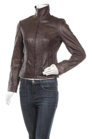 Дамско кожено яке Ashley Brooke, Размер S, Цвят Кафяв, Естествена кожа, Цена 90,30лв.
