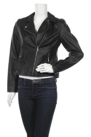 Дамско кожено яке Atmosphere, Размер M, Цвят Черен, Еко кожа, Цена 34,91лв.
