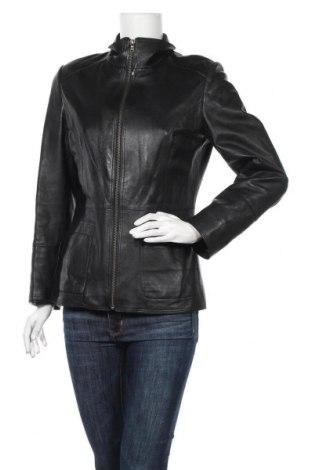 Γυναικείο δερμάτινο μπουφάν Barisal, Μέγεθος M, Χρώμα Μαύρο, Γνήσιο δέρμα, Τιμή 46,18€