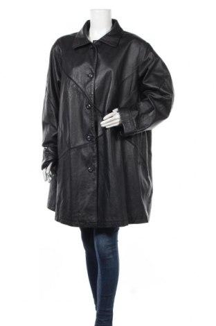 Дамско кожено яке Barisal, Размер XXL, Цвят Черен, Естествена кожа, Цена 25,52лв.