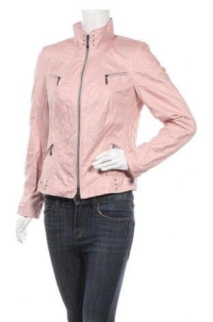 Γυναικείο δερμάτινο μπουφάν Bonita, Μέγεθος M, Χρώμα Ρόζ , Δερματίνη, Τιμή 22,21€