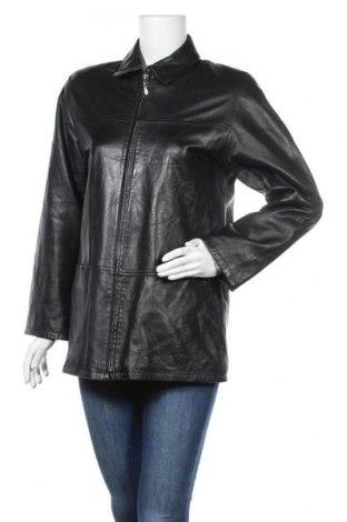 Дамско кожено яке Brookshire, Размер S, Цвят Черен, Естествена кожа, Цена 15,49лв.