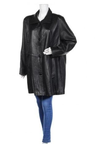 Дамско кожено яке Cabrini, Размер XXL, Цвят Черен, Естествена кожа, Цена 34,65лв.