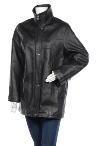 Дамско кожено яке Canda, Размер L, Цвят Черен, Естествена кожа, Цена 27,02лв.