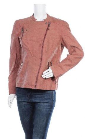 Дамско кожено яке Cool Code, Размер XL, Цвят Розов, Еко кожа, Цена 41,90лв.