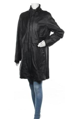 Дамско кожено яке Covington, Размер XL, Цвят Черен, Естествена кожа, Цена 86,10лв.