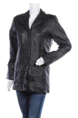 Дамско кожено яке Dakota, Размер M, Цвят Черен, Естествена кожа, Цена 13,94лв.