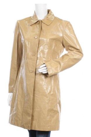 Дамско кожено яке Enjoy, Размер L, Цвят Бежов, Естествена кожа, Цена 43,05лв.