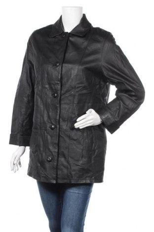 Дамско кожено яке Fabiani, Размер M, Цвят Черен, Естествена кожа, Цена 18,06лв.
