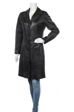 Дамско кожено яке Gipsy, Размер S, Цвят Черен, Естествена кожа, Цена 128,52лв.