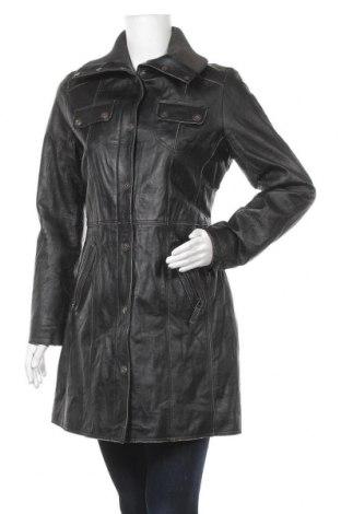 Γυναικείο δερμάτινο μπουφάν Gipsy, Μέγεθος M, Χρώμα Μαύρο, Γνήσιο δέρμα, Τιμή 29,10€