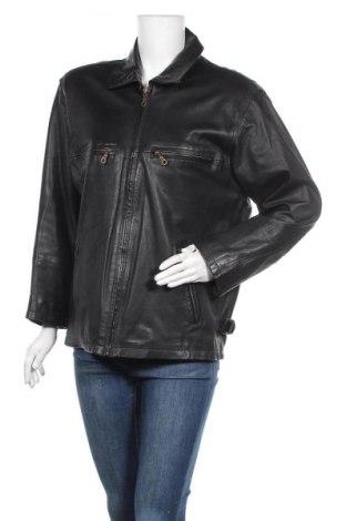 Γυναικείο δερμάτινο μπουφάν Joy, Μέγεθος M, Χρώμα Μαύρο, Γνήσιο δέρμα, Τιμή 13,18€
