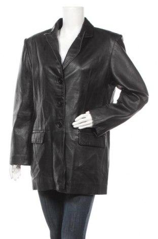 Γυναικείο δερμάτινο μπουφάν Joy, Μέγεθος XL, Χρώμα Μαύρο, Γνήσιο δέρμα, Τιμή 17,73€