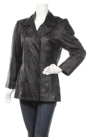 Γυναικείο δερμάτινο μπουφάν Joy, Μέγεθος S, Χρώμα Μαύρο, Γνήσιο δέρμα, Τιμή 15,23€