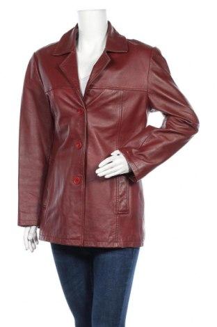 Γυναικείο δερμάτινο μπουφάν Joy, Μέγεθος M, Χρώμα Κόκκινο, Γνήσιο δέρμα, Τιμή 11,19€