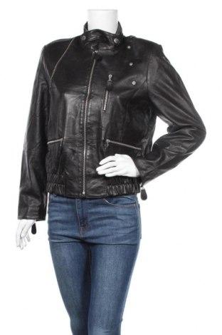 Γυναικείο δερμάτινο μπουφάν Madeleine, Μέγεθος M, Χρώμα Μαύρο, Γνήσιο δέρμα, Τιμή 35,66€