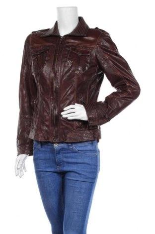 Дамско кожено яке Mauritius, Размер M, Цвят Кафяв, Естествена кожа, Цена 103,50лв.