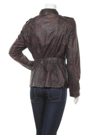 Дамско кожено яке Maze, Размер L, Цвят Кафяв, Естествена кожа, Цена 143,64лв.