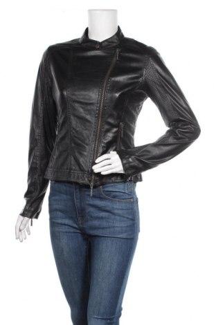 Дамско кожено яке More & More, Размер S, Цвят Черен, Еко кожа, Цена 46,88лв.