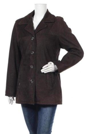 Дамско кожено яке Oakwood, Размер M, Цвят Кафяв, Естествена кожа, Цена 28,12лв.