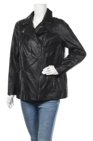 Дамско кожено яке Old Navy, Размер XL, Цвят Черен, Еко кожа, Цена 18,06лв.