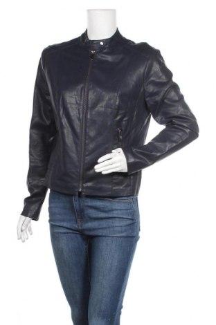 Дамско кожено яке Orsay, Размер L, Цвят Черен, Еко кожа, Цена 33,12лв.