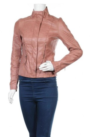 Γυναικείο δερμάτινο μπουφάν Orsay, Μέγεθος XS, Χρώμα Ρόζ , Δερματίνη, Τιμή 22,41€