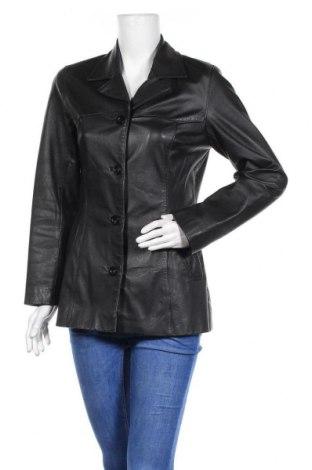 Дамско кожено яке Rino & Pelle, Размер M, Цвят Черен, Естествена кожа, Цена 25,99лв.
