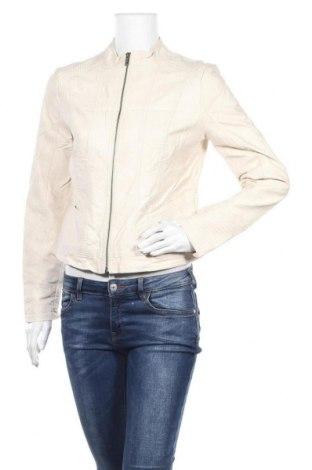 Γυναικείο δερμάτινο μπουφάν Soya Concept, Μέγεθος M, Χρώμα  Μπέζ, Δερματίνη, Τιμή 18,49€