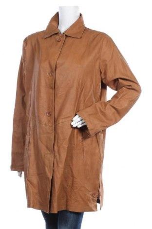Дамско кожено яке TCM, Размер XXL, Цвят Кафяв, Естествена кожа, Цена 67,20лв.