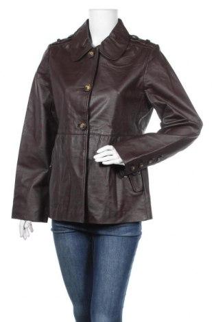 Дамско кожено яке Target, Размер XL, Цвят Кафяв, Естествена кожа, Цена 78,54лв.
