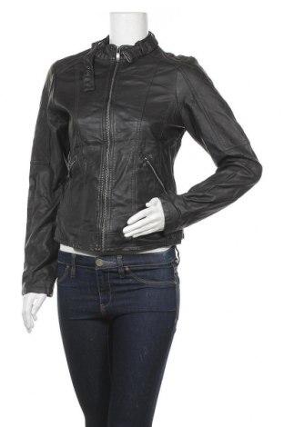 Γυναικείο δερμάτινο μπουφάν Up 2 Fashion, Μέγεθος S, Χρώμα Μαύρο, Δερματίνη, Τιμή 12,14€