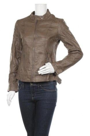 Γυναικείο δερμάτινο μπουφάν Up 2 Fashion, Μέγεθος S, Χρώμα Καφέ, Δερματίνη, Τιμή 22,08€