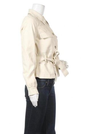 Дамско кожено яке Vero Moda, Размер S, Цвят Бежов, Еко кожа, Цена 45,82лв.