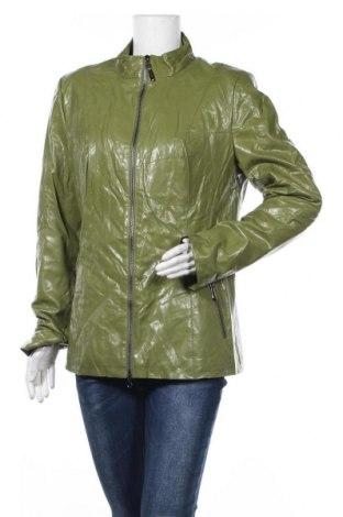 Γυναικείο δερμάτινο μπουφάν W, Μέγεθος XL, Χρώμα Πράσινο, Δερματίνη, Τιμή 19,55€