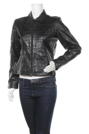 Дамско кожено яке Willi Smith, Размер S, Цвят Черен, Естествена кожа, Цена 86,78лв.