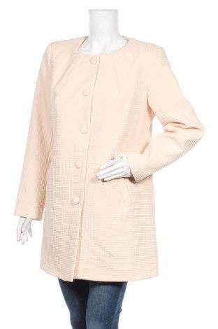 Дамско палто, Размер 3XL, Цвят Розов, Цена 30,24лв.