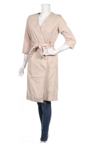 Дамско палто COS, Размер S, Цвят Бежов, 78% памук, 19% полиамид, 3% еластан, Цена 69,93лв.