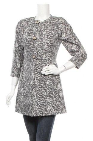 Дамско палто Cabi, Размер S, Цвят Бял, 67% памук, 29% полиамид, 4% еластан, Цена 23,63лв.