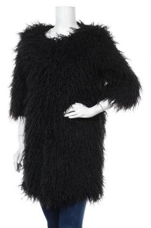 Дамско палто Camomilla, Размер L, Цвят Черен, 80% акрил, 20% полиестер, Цена 85,05лв.