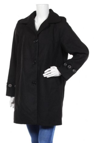 Дамско палто Camomilla, Размер XL, Цвят Черен, 85% полиестер, 12% вискоза, 3% еластан, Цена 90,72лв.