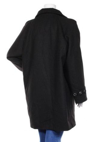 Дамско палто Camomilla, Размер XXL, Цвят Черен, 85% полиестер, 12% вискоза, 3% еластан, Цена 71,82лв.