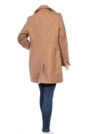 Дамско палто Camomilla, Размер XL, Цвят Кафяв, 85% полиестер, 12% вискоза, 3% еластан, Цена 100,17лв.
